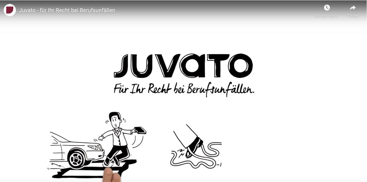 Juvato Berufshaftpflichtunfälle